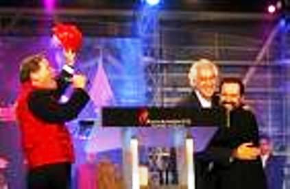 Samuel Moreno y el pastor Ricardo Rodríguez