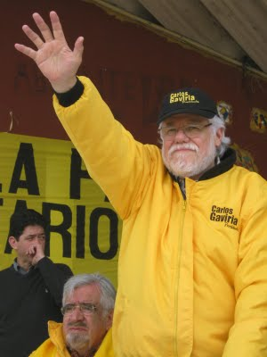 Carlos Gaviria, ex presidente del Polo Democrático
