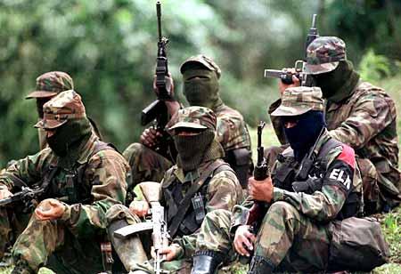 Guerrilla del ELN, de fuerte influencia en las Universidades públicas