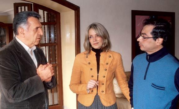 Lucho Garzón, Maria Emma Mejía y Gustavo Petro: Un mismo objetivo (Foto Revista Cambio)