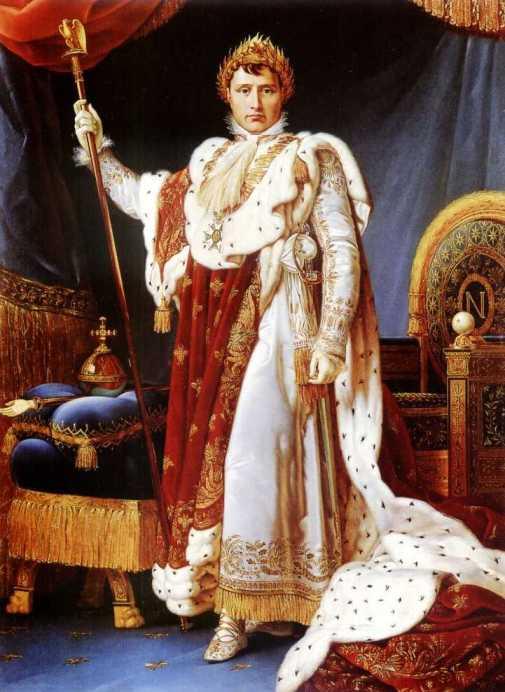 Napoleón I, coronado