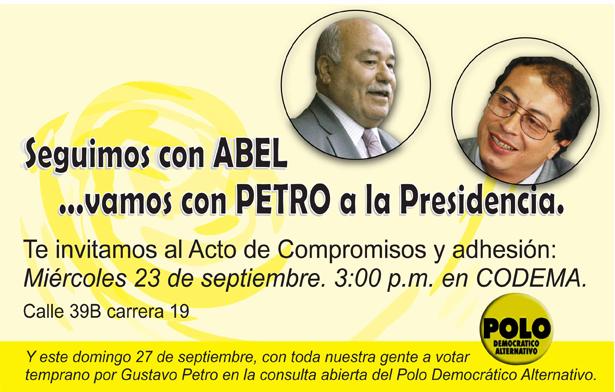 Abel Rodríguez, el hombre de los robos a la educación Distrital, apoya a Petro