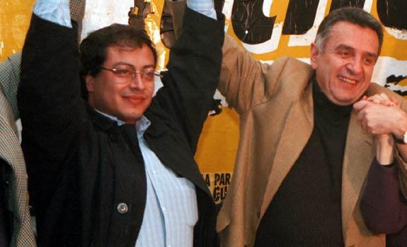 Gustavo Petro y Lucho Garzón