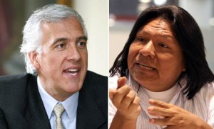 Samuel Moreno y su protegido, el corrupto personero Francisco Rojas Birry