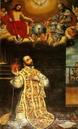 Ignacio de Loyola... Misticismo recargado