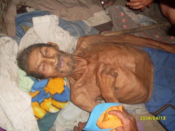Un anciano fallecido por abandono de la administración pública... ¿se volverá normal en Bogotá..?