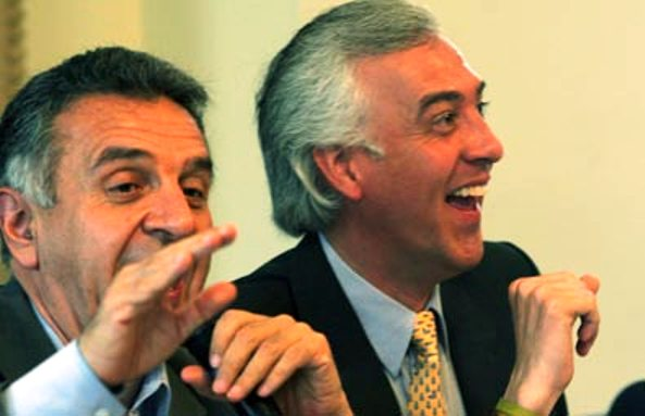 Lucho y Sammy, el duo dinámico