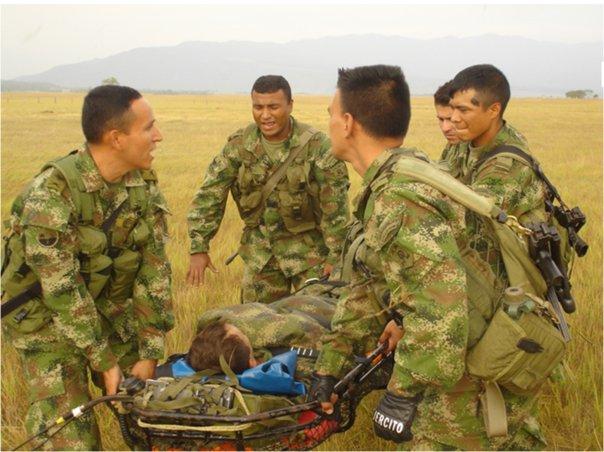Hay que ser soldado para entender lo que se arriesga allí