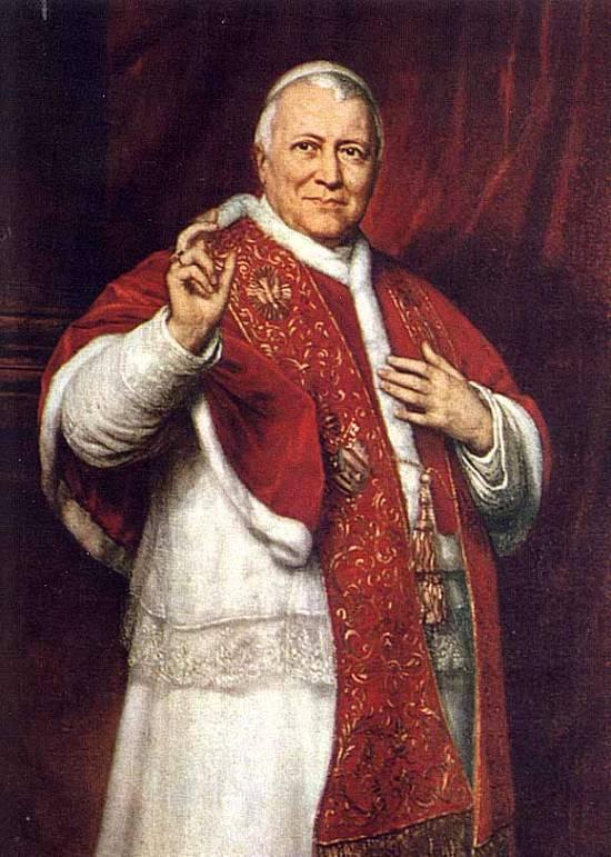 El papa Pío IX, gran enemigo de la democracia