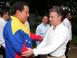 Encuentro entre Hugo Chávez y Juan Manuel Santos