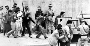 Rescate de los rehenes secuestrados por el M-19 en 1985, en el asalto al Palacio de Justicia