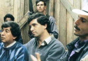 José Noé Rios, Rafael Pardo (hoy candidato a la alcaldía por el Partido Liberal) y Carlos Pizarro