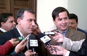 Roy Barreras y Juan Fernando Cristo
