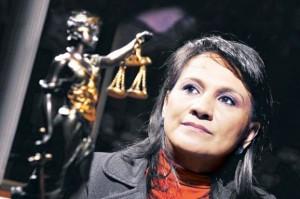 María Stella Jara, la juez que prevaricó. En vez de estar en la cárcel, fue premiada al ser nombrada magistrada