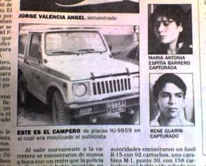 """René Guarín, el principal vocero de los familiares de los """"desaparecidos"""", resultó ser un guerrillero del M-19, secuestrador"""