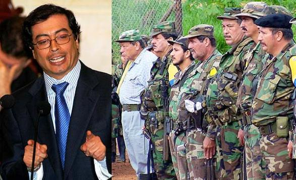 Las FARC apoyan a Gustavo Petro