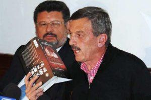 El Coronel Alfonso Plazas Vega y su abogado, el Dr. Jaime Granados