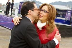"""Petro y Gina Parodi, la """"política del amor"""", o del """"todo vale"""""""