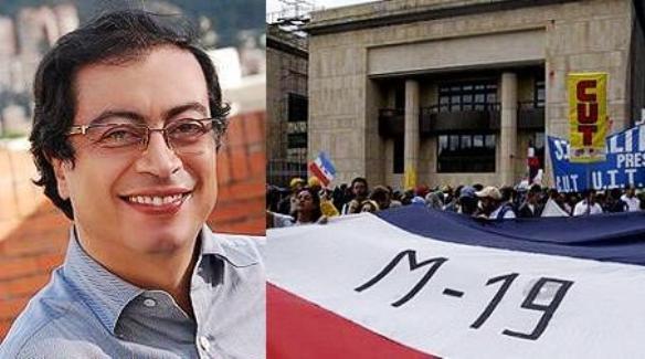 Gustavo Petro, del M-19, alcalde de Bogotá
