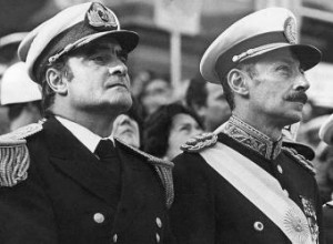 General Eduardo Massera y General Rafael Videla