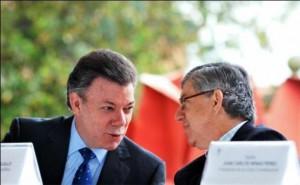 Juan Manuel Santos y César Gaviria, irresponsables con el manejo fiscal
