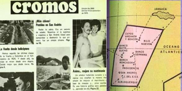 DESDE 1976 COLOMBIA CONOCIA EL ROL EXPANSIONISTA NICARAGUENSE
