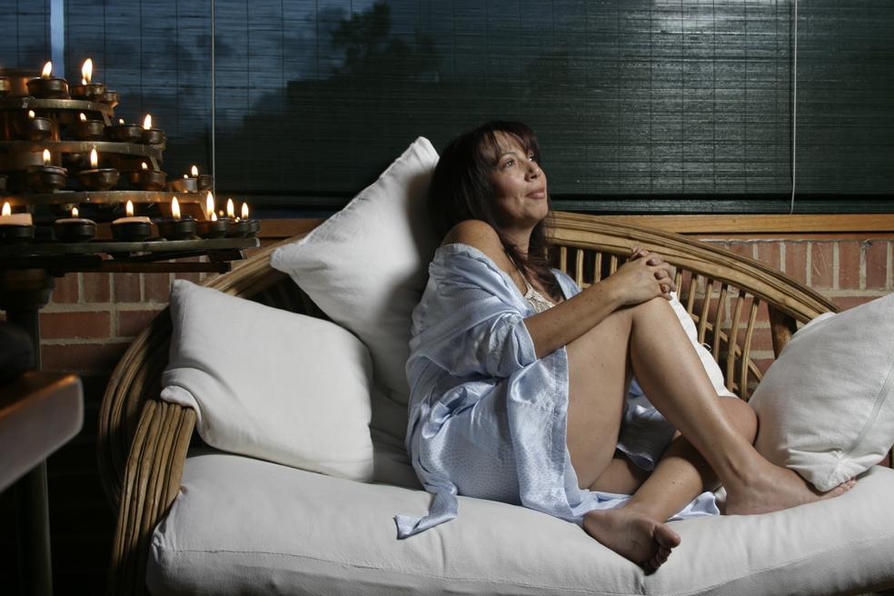 María Jimena Duzán, en una erótica foto