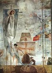 El sueño de Cristóbal Colón, de Dalí