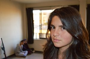 """Angela, la actriz que formó Rodrigo para que interpretara a """"Juanita"""""""