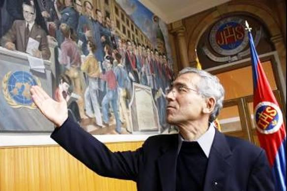 Francisco de Roux, provincial de los Jesuitas en Colombia