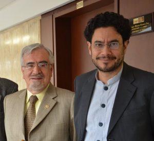 Germán Navas Talero e Iván Cepeda. El diablo los cria y los junta