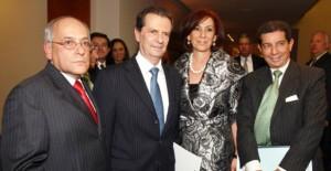 El Dr. José Félix Lafaurie en el homenaje que el Centro de Pensamiento Primero Colombia organizó al Dr, Fernando Londoño en el Nogal
