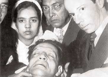 Cadáver de Jorge Eliécer Gaitán