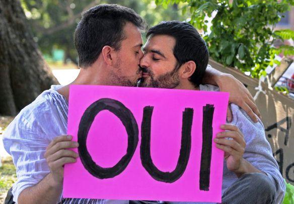Francia aprobó el matrimonio gay