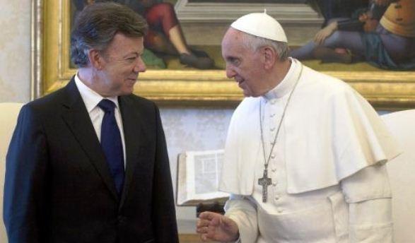 El falso que el Papa Francisco haya apoyado los diálogos con las FARC en La Habana