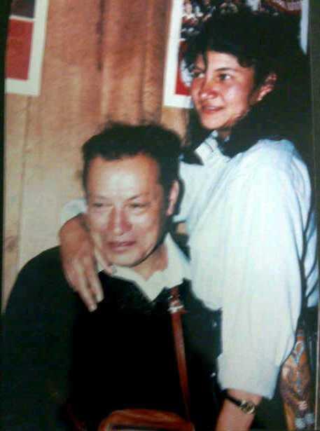 Tirofijo y Sandra Ramírez