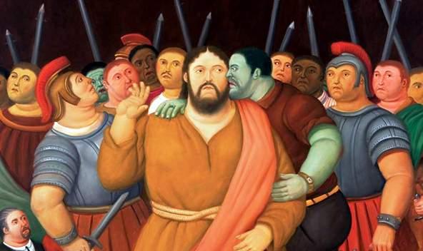 """""""El beso de Judas"""" según el maestro Fernando Botero"""