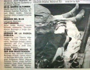 Alirio Uribe Muñoz, antiguo terrorista del M-19, presidente del Colectivo Alvear Restrepo, desde donde se dedicó a perseguir militares como el Coronel Plazas Vega, es hoy congresista de Colombia