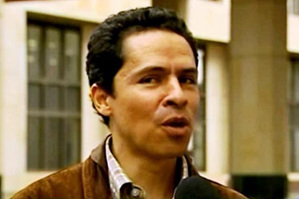 René Guarín Cortés, terrorista del M-19, secuestrador. Hoy en día finge ser defensor de Derechos Humanos