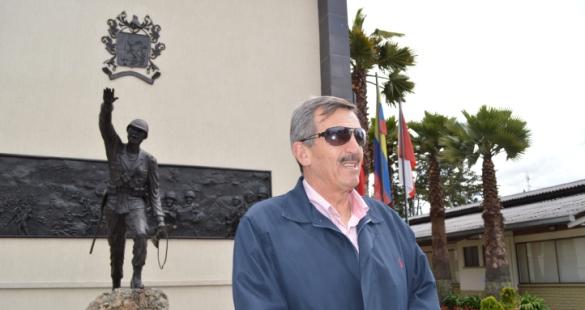 Coronel Alfonso Plazas Vega (Foto Periodismo Sin Fronteras)