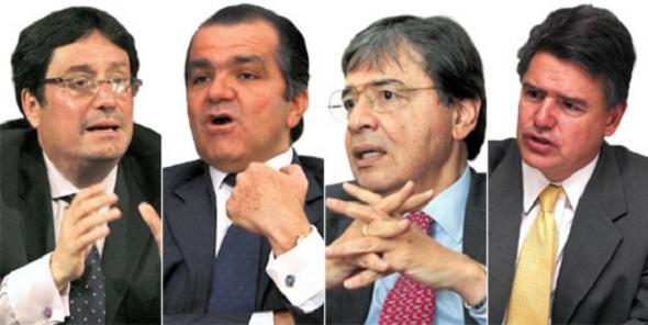 Candidatos uribistas