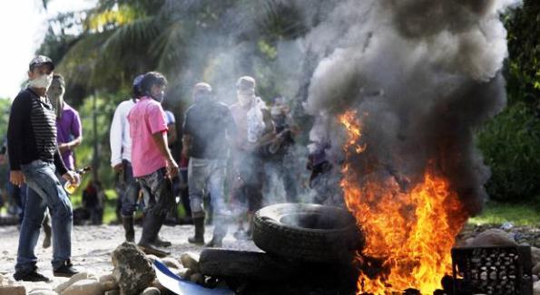 Desórdenes en el Catatumbo, con patrocinio de las FARC