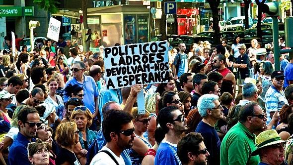 Desesperanza y crisis en Portugal