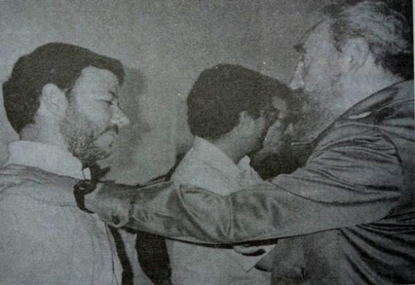 Juan Manuel Santos y Fidel Castro