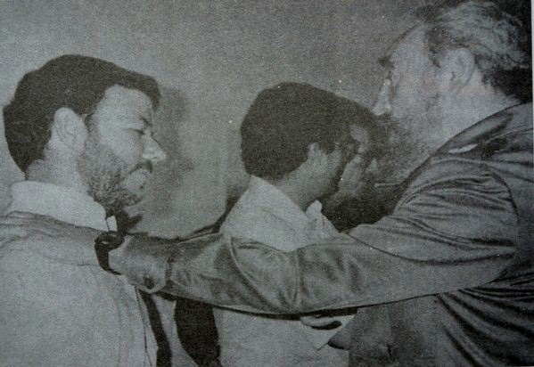 Juan Manuel Santos, ficha de Fidel Castro