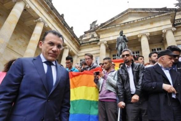Roy Barreras, respaldando el matrimonio gay en Colombia