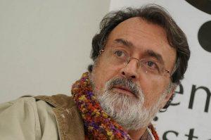 Gonzalo Sánchez, director del Grupo de Memoria Histórica, encargado de falsificar la verdad histórica en Colombia, avalado por Juan Manuel Santos