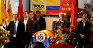 Comité Ejecutivo Central del MOIR, en el funeral de uno de sus miembros