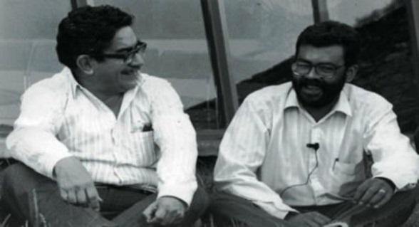 """Manuel Cepeda y """"Alfonso Cano"""""""