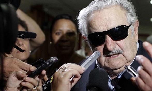 José Mujica, guerrillero de Los Tupamaros. Hoy presidente de Uruguay